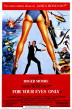 all james bond movies poster for your eyes only 72x109 James Bond Movies   All 007 Movies In Chronological Order