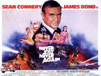 all james bond movies poster never say never again 145x109 James Bond Movies   All 007 Movies In Chronological Order