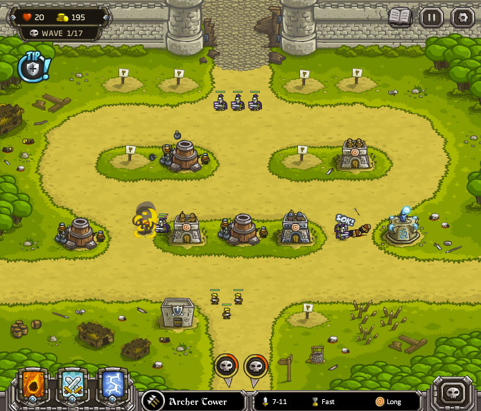 free online tower defense
