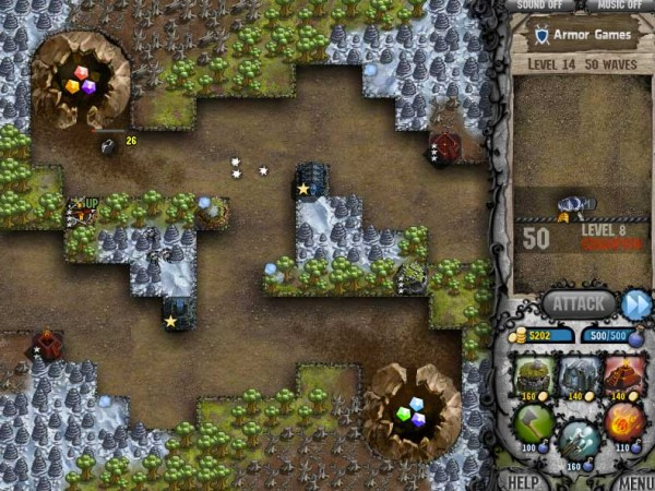 cursed treasure level pack free tower defense game 600x450 13 Most Awesome Free Tower Defense Games