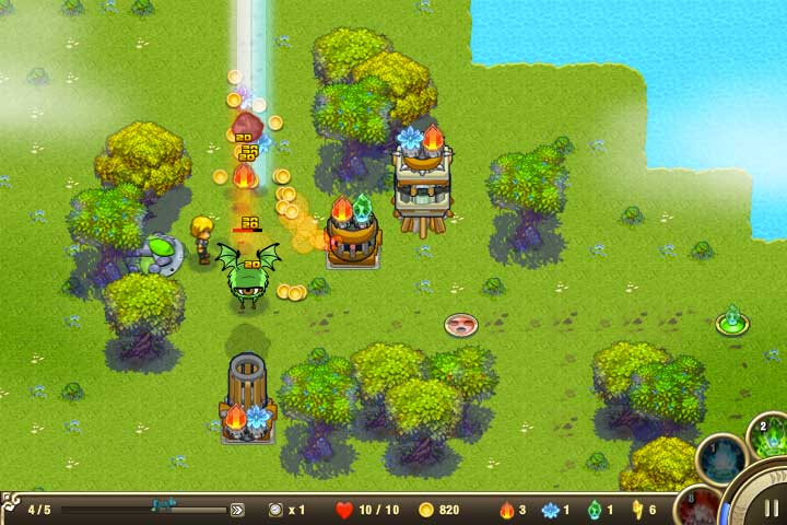 flash game tower defense