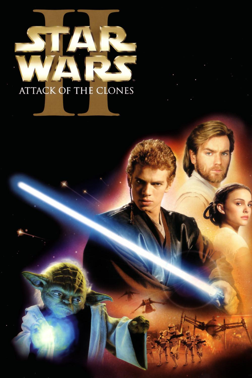 Image result for Star wars EP II movie poster