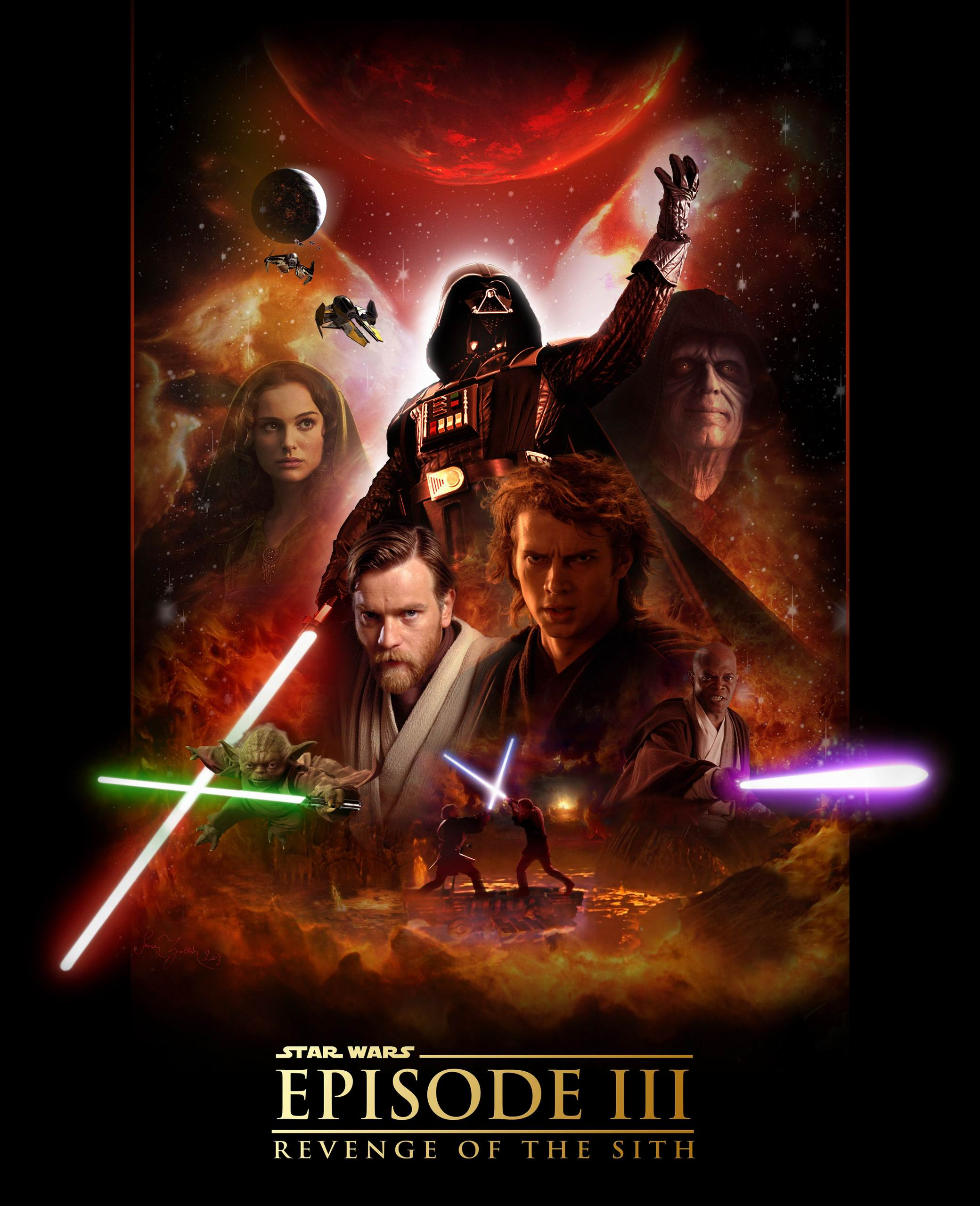 an analysis of episode iii of the star wars Star wars: episode iii - revenge of the it supposedly forms the mythic heart of the gigantic third episode of george lucas's colossally inflated star wars prequel.